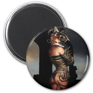 A Warrior Stands Alone Magnets