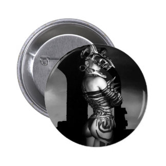 A Warrior Stands Alone Pinback Button