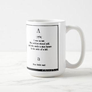 A was an ant coffee mug