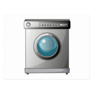 A washing machine postcard