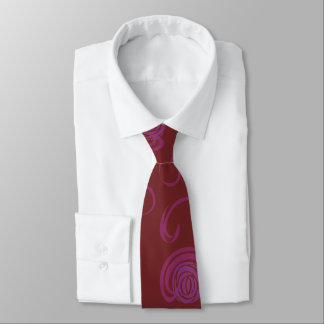 A Wave Of Flowers Tie