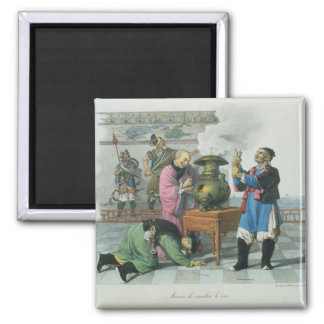 A Way of Telling the Future, engraved by Mlle. For Square Magnet