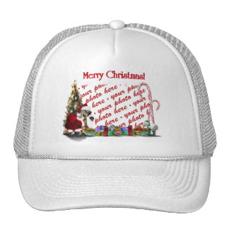 A Web Footed Christmas Hat