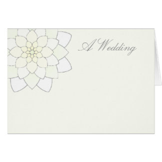 A Wedding Card