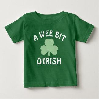 A Wee Bit Irish | St. Patrick's Day Baby T-Shirt