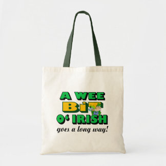 A Wee Bit Irish Tote Bag