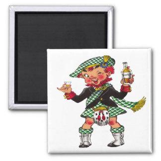 A Wee Bit O' Scotch Magnet