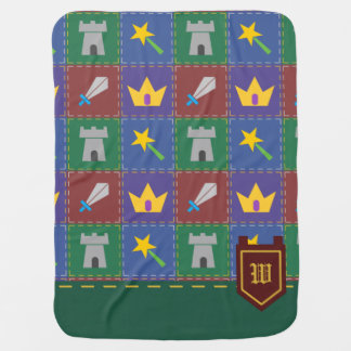 A Wee One's Fantasy Quilt Baby Blanket