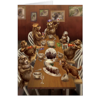 A West Coast Christmas: Marmots Card