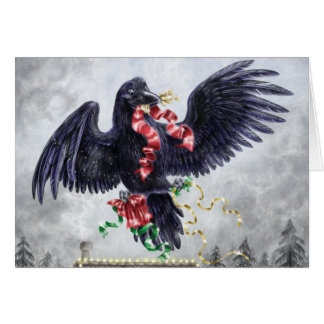 A West Coast Christmas: Raven Card