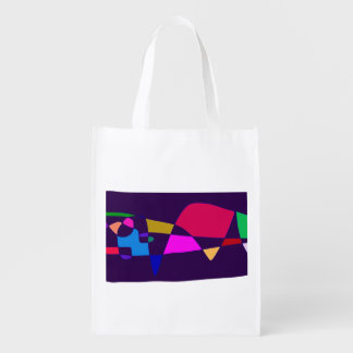 A Whale in the Deep Sea Reusable Grocery Bag