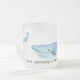 A whale of a time mug