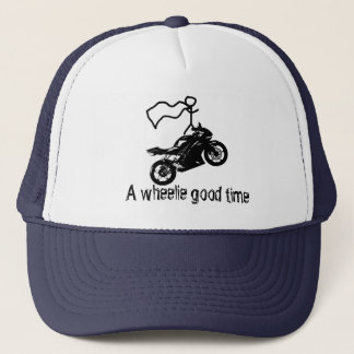 A wheelie good time hat. By Moto Life™ Trucker Hat