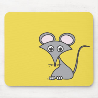 A whimsical mouse on his cheese pad! mouse pad