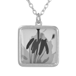 A Whisper-d Silver Plated Necklace