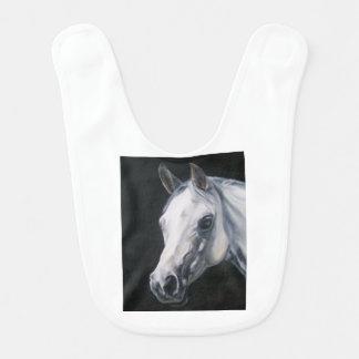A White Horse Bib
