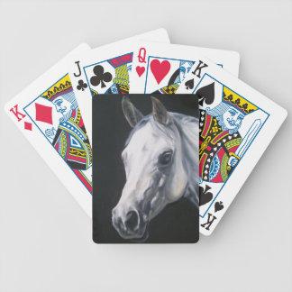 A White Horse Poker Deck