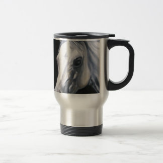 A White Horse Travel Mug
