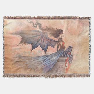 A Wicked Wind Gothic Vampire Fairy Art
