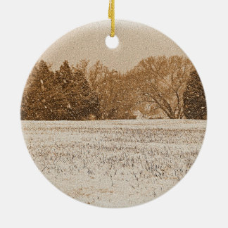 A WIDE COUNTRY CHRISTMAS Ornament