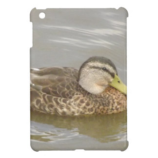 A Wild Duck Swimming iPad Mini Cases