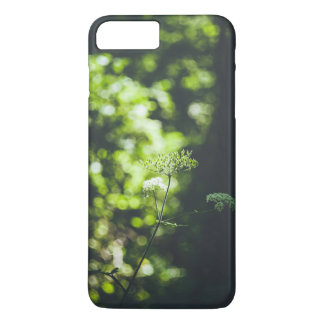 A wild flower in the green nature iPhone 7 plus case