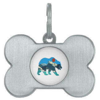 A Wild Journey Pet Name Tag