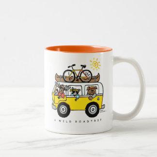 """A Wild Road Trip"" Coffee/Tea Mug by Reneé Womack"