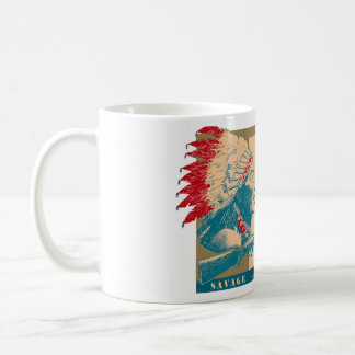 A window decal from steve coffee mug