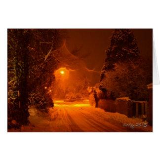 A Winter Night Card
