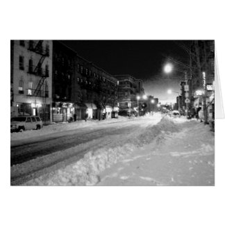 'A Winter Night in the City' Holiday Card - Winter