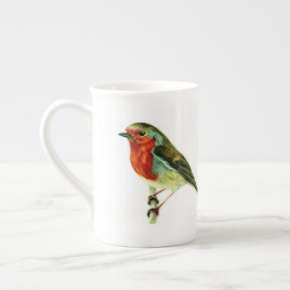 """A Winters Friend"" - Bone China Mug"