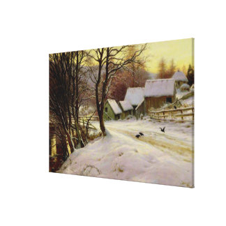 A Winter's Morning Canvas Print