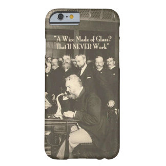 A Wire Made of Glass Humorous Tech Barely There iPhone 6 Case