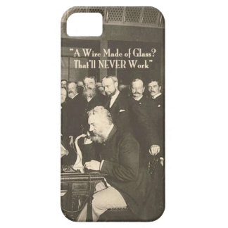 A Wire Made of Glass Humorous Tech iPhone 5 Covers