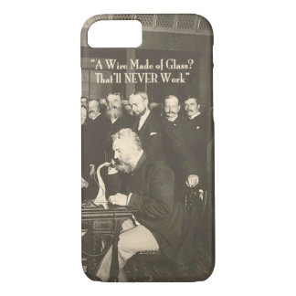 A Wire Made of Glass Humorous Tech iPhone 8/7 Case