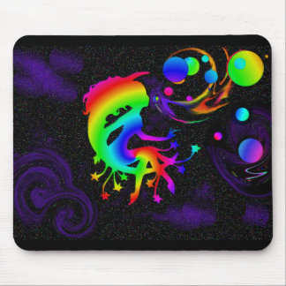 """""""a wish upon bubbles"""" mouse pad"""