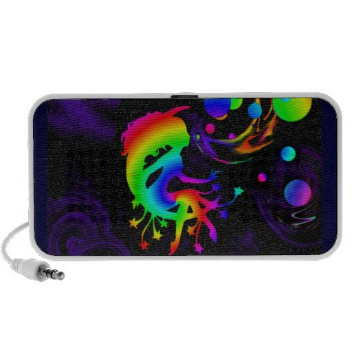 A Wish Upon Bubbles Laptop Speakers