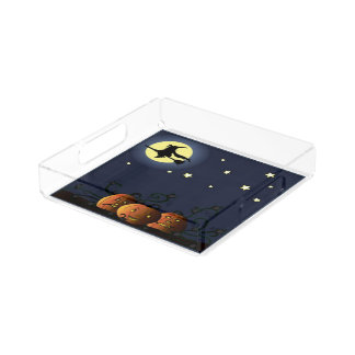 A Witch Amongst the Stars Acrylic Tray