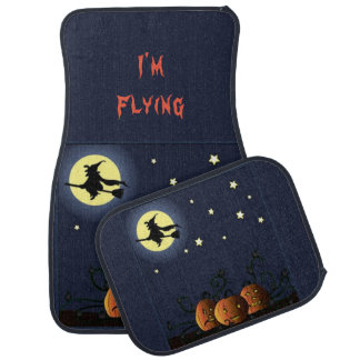 A Witch Amongst the Stars Car Mat