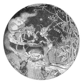 A Witch Brews for Forest Friends Plate