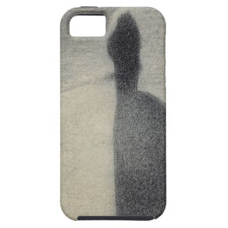 A Woman Fishing (conte crayon) iPhone 5 Covers
