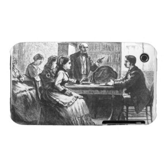 A woman negotiates with a factory manager, assiste iPhone 3 Case-Mate case