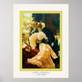A Woman Of Ambition ~ James Tissot ~ Fine Art Poster