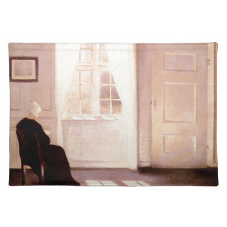 A Woman Reading By A Window Placemat