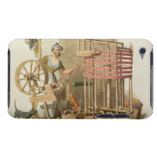 A Woman Wool Skeiner, engraved by the artist, 1808 Barely There iPod Cases