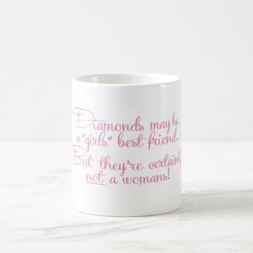 A womans best friend mug