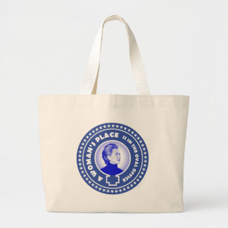 A Woman's Place 2016 Large Tote Bag