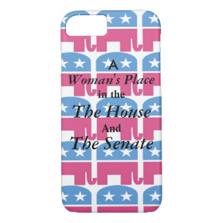 A Woman's Place iPhone 7 Case