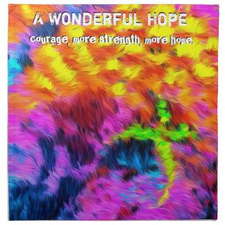 A Wonderful Hope Napkin